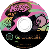 Kirby Air Ride GameCube disc (GKYP01)