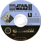 LEGO Star Wars II: The Original Trilogy GameCube disc (GL7P64)