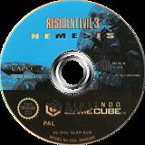 Resident Evil 3: Nemesis GameCube disc (GLEP08)
