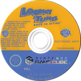 Looney Tunes: Back in Action GameCube disc (GLNP69)