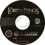The Lord of the Rings: The Two Towers GameCube disc (GLOP69)