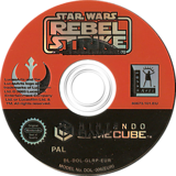 Star Wars Rogue Squadron III: Rebel Strike GameCube disc (GLRP64)