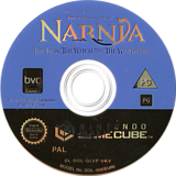 The Chronicles of Narnia: The Lion Witch and the Wardrobe GameCube disc (GLVP4Q)