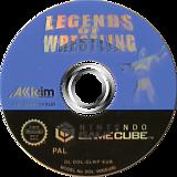 Legends of Wrestling GameCube disc (GLWP51)