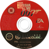 James Bond 007: From Russia With Love GameCube disc (GLZP69)