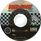 Mario Kart: Double Dash!! GameCube disc (GM4P01)