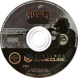 Medal of Honor: Frontline GameCube disc (GMFP69)