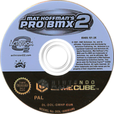 Mat Hoffman's Pro BMX 2 GameCube disc (GMHP52)
