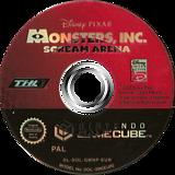 Monsters, Inc. Scream Arena GameCube disc (GMNP78)