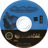 Micro Machines GameCube disc (GMOP70)