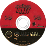 Monopoly Party GameCube disc (GMQP70)
