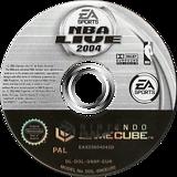 NBA Live 2004 GameCube disc (GN8P69)