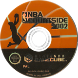 NBA Courtside 2002 GameCube disc (GNBP01)