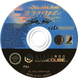 NHL Hitz 20-02 GameCube disc (GNHP5D)
