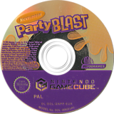 Nickelodeon Party Blast GameCube disc (GNPP70)