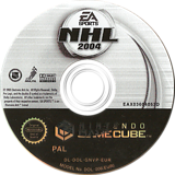 NHL 2004 GameCube disc (GNVP69)