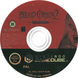 Blood Omen 2: The Legacy of Kain Series GameCube disc (GO2P4F)