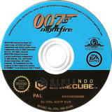 James Bond 007: NightFire GameCube disc (GO7P69)