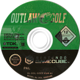 Outlaw Golf GameCube disc (GOFP6S)