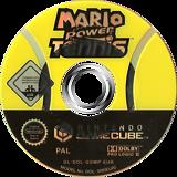 Mario Power Tennis GameCube disc (GOMP01)