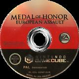Medal of Honor: European Assault GameCube disc (GONP69)
