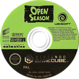 Open Season GameCube disc (GOSX41)