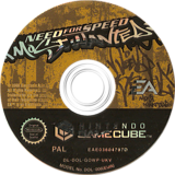 Need for Speed: Most Wanted GameCube disc (GOWP69)