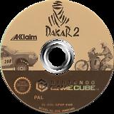 Dakar 2: The World's Ultimate Rally GameCube disc (GPDP51)