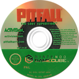 Pitfall: The Lost Expedition GameCube disc (GPHP52)