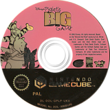 Piglet's Big Game GameCube disc (GPLP9G)