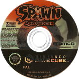 Spawn: Armageddon GameCube disc (GPWP69)