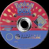 Pokémon Box: Ruby & Sapphire GameCube disc (GPXP01)
