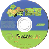 SpongeBob SquarePants: Creature from the Krusty Krab GameCube disc (GQ4P78)