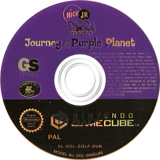 Dora the Explorer: Journey to the Purple Planet GameCube disc (GQLP54)