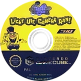 SpongeBob SquarePants: Lights, Camera, Pants! GameCube disc (GQQH78)