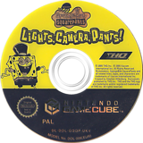 SpongeBob SquarePants: Lights, Camera, Pants! GameCube disc (GQQP78)