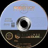 Robotech:Battlecry GameCube disc (GRBP6S)