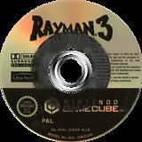 Rayman 3: Hoodlum Havoc GameCube disc (GRHP41)
