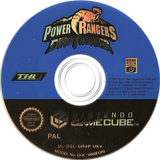 Power Rangers Dino Thunder GameCube disc (GRUP78)