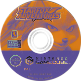 Star Fox Adventures GameCube disc (GSAP01)