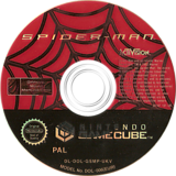 Spider-Man GameCube disc (GSMP52)