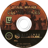 Star Wars: The Clone Wars GameCube disc (GSXP64)