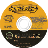 Tony Hawk's Pro Skater 3 GameCube disc (GT3P52)
