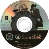 Tiger Woods PGA Tour 2003 GameCube disc (GTIP69)