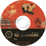 Ty the Tasmanian Tiger GameCube disc (GTYP69)