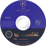 UEFA Champions League 2004-2005 GameCube disc (GUCP69)