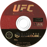 UFC: Throwdown GameCube disc (GUFP4Z)