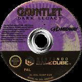 Gauntlet: Dark Legacy GameCube disc (GUNP5D)