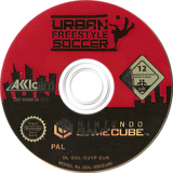 Urban Freestyle Soccer GameCube disc (GUVP51)