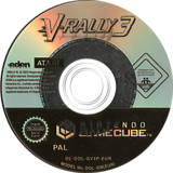 V-Rally 3 GameCube disc (GV3P70)